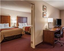 Comfort Inn and Suites Klamath Falls Rooms - Double Bed Suite